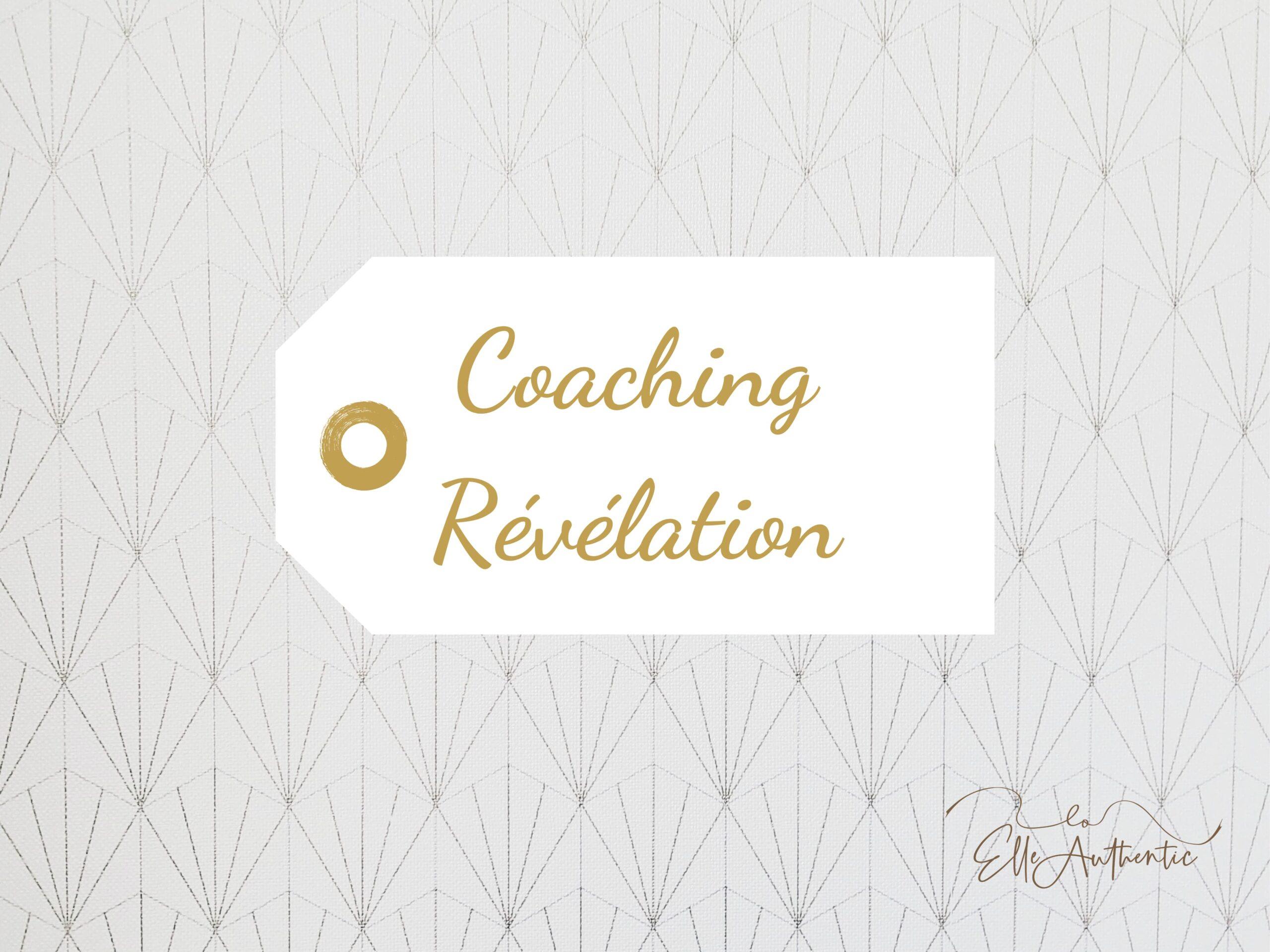 Coaching révélation
